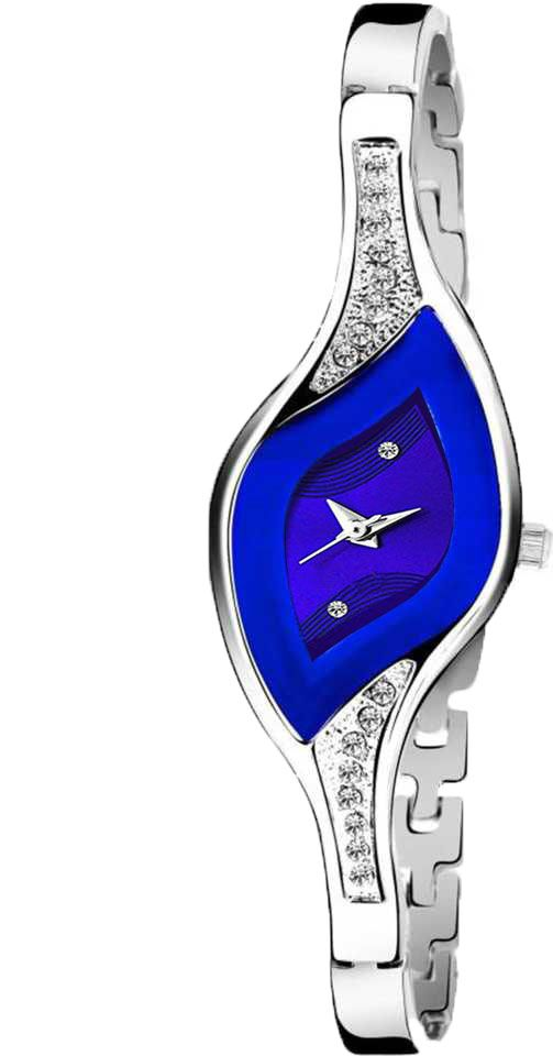 Senjarya Times Slim Blue Fancy slim Dial  Watch For lady Watch For Girls And Ladies Watch For Girls And Ladies
