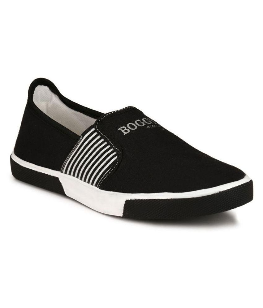 Boggy Confort Black Sneakers Casual Shoes