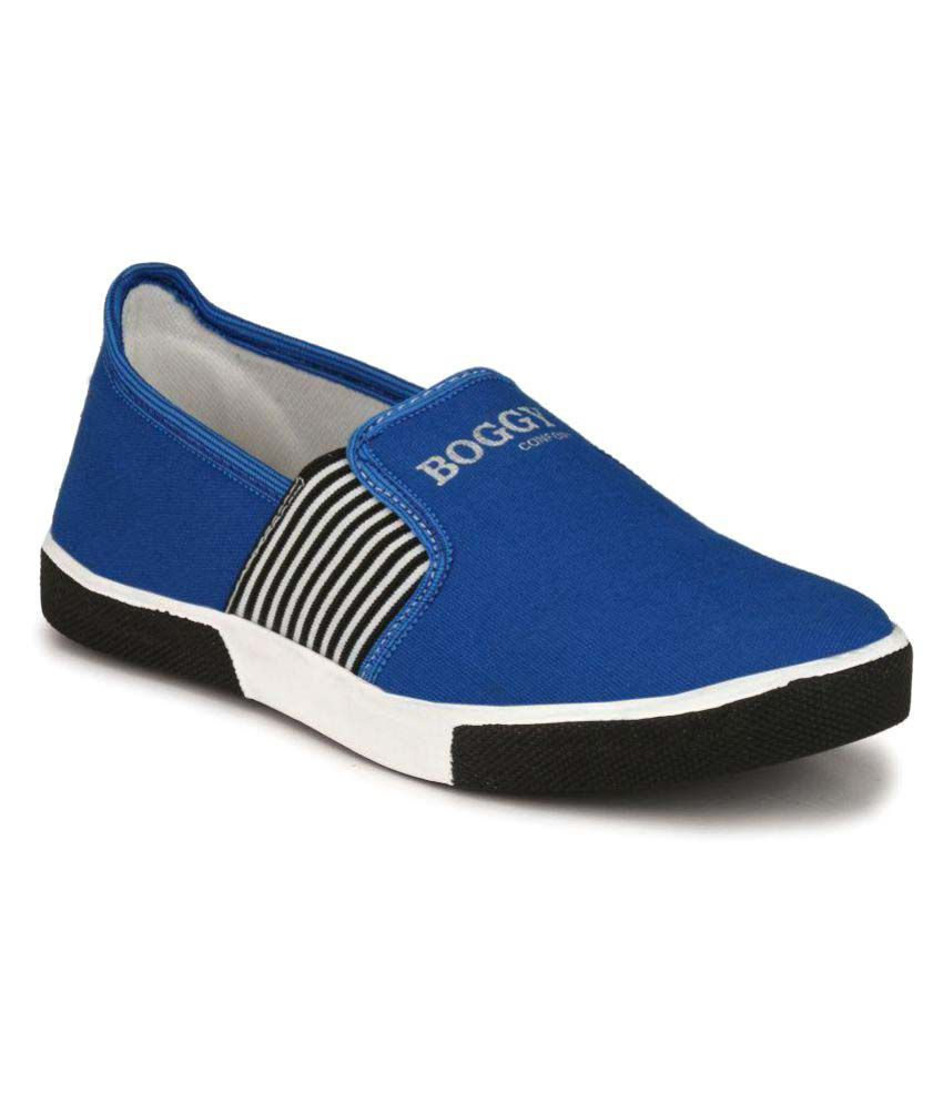 Boggy Confort Blue Sneakers Casual Shoes
