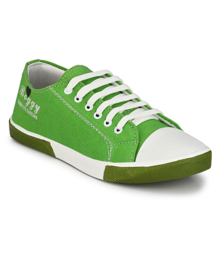 Boggy Confort Green Sneakers Casual Shoes