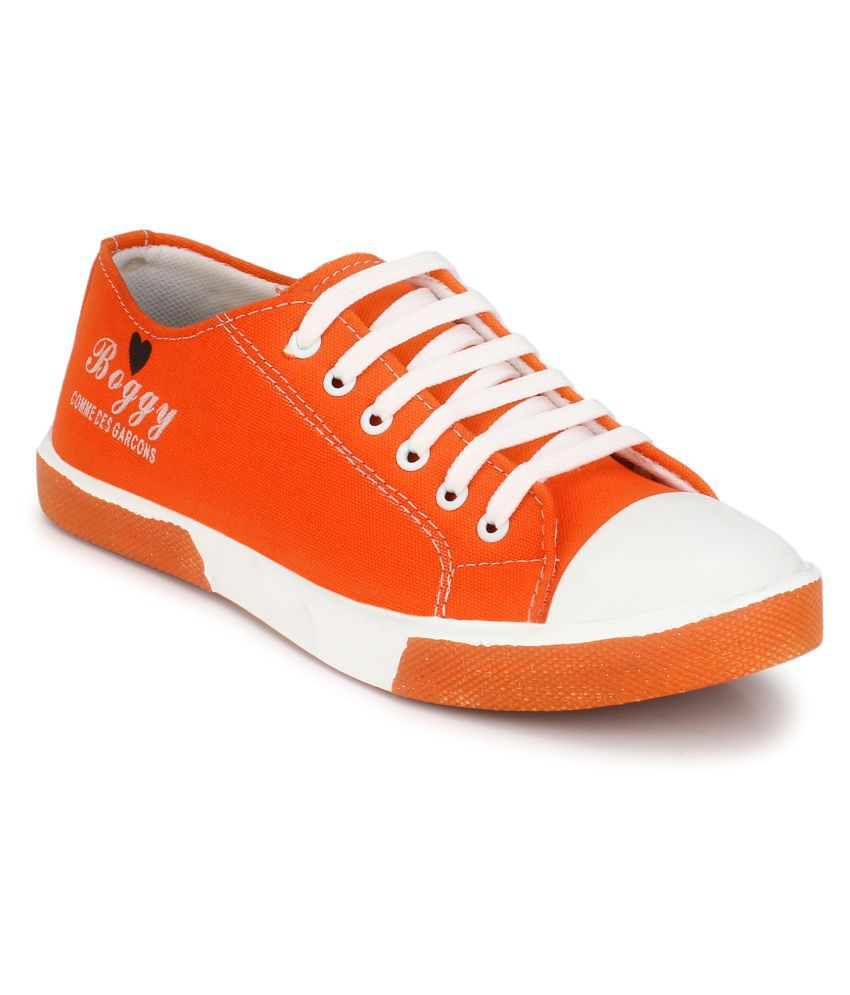 Boggy Confort Orange Sneakers Casual Shoes