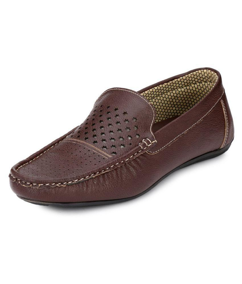 Boggy Confort Brown Loafer