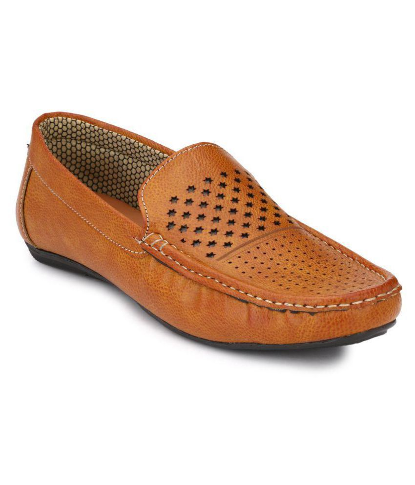 Boggy Confort Tan Loafer