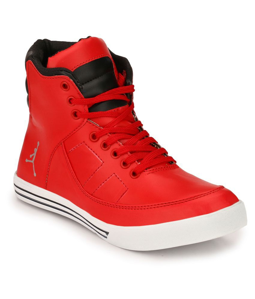 Boggy Confort Red Casual Shoes