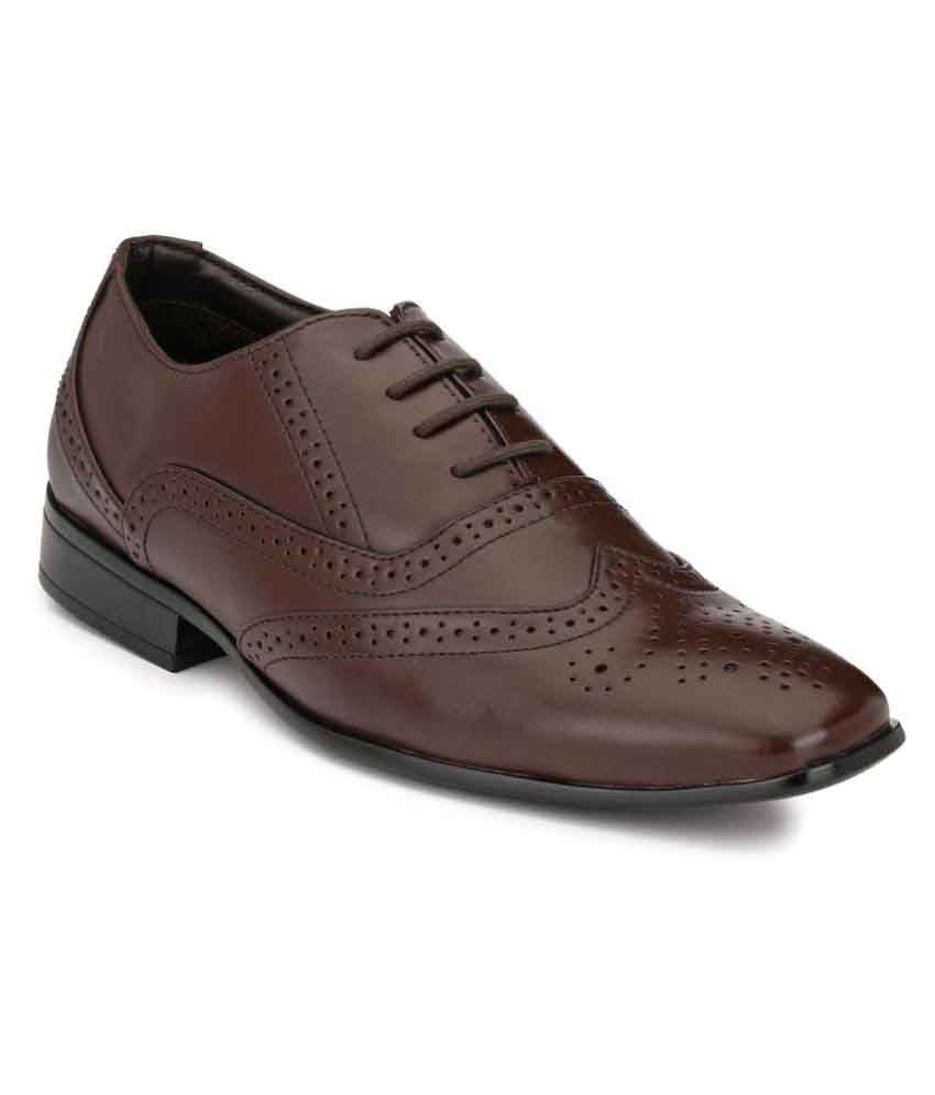 Boggy Confort Brown Formal Shoes