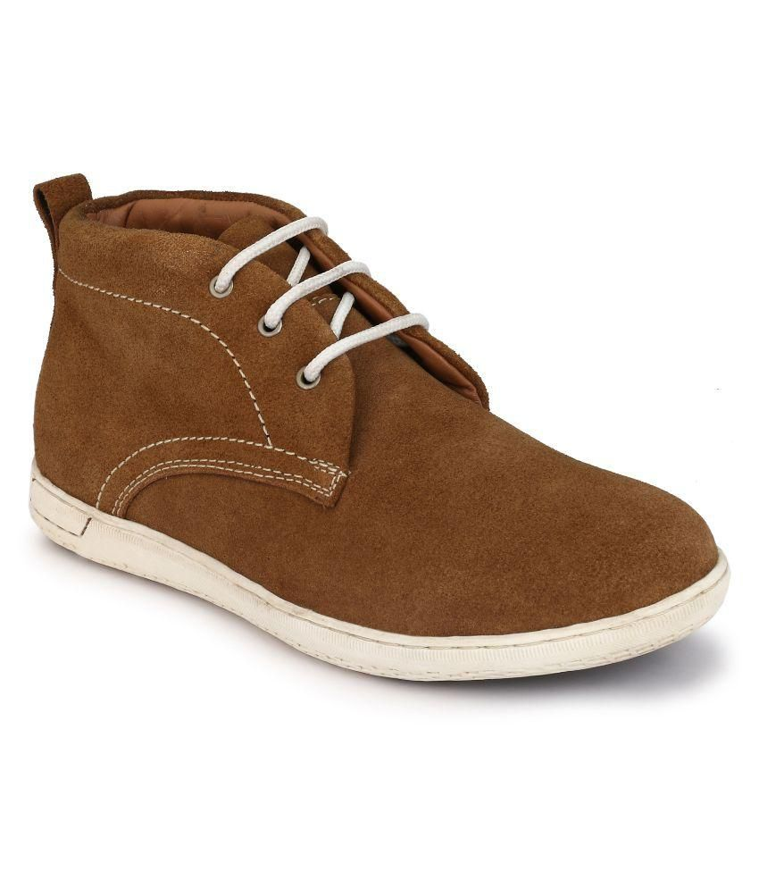Boggy Confort Tan Casual Shoes