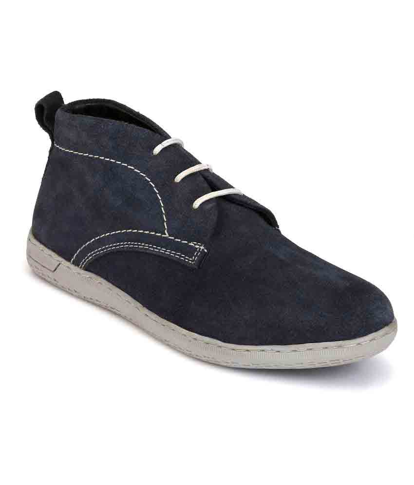 Boggy Confort Blue Casual Shoes