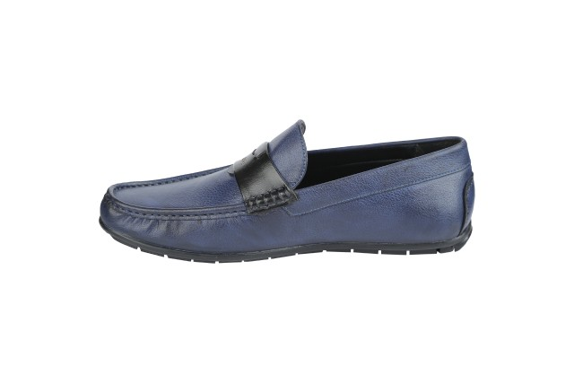 Men Loafer Shoes ( Blue)