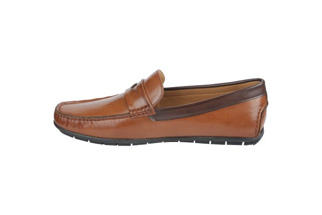 Men Loafer Shoes TAN