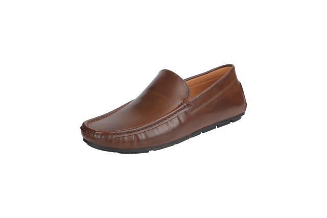 Men Loafer Shoes Brown