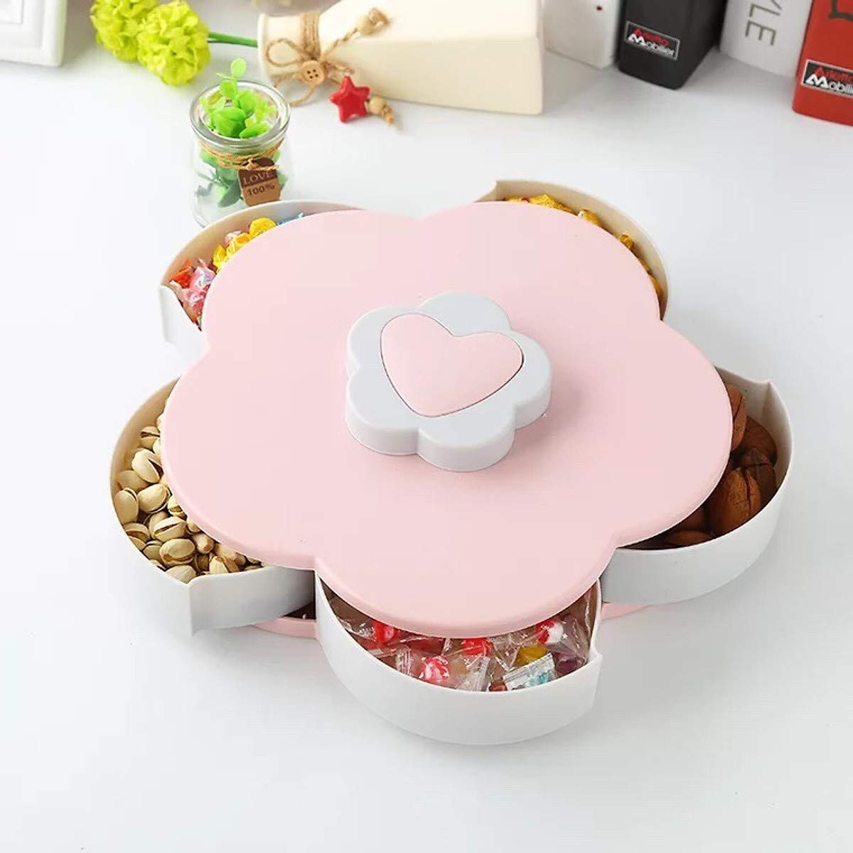 Flower Candy Box Snack Tray