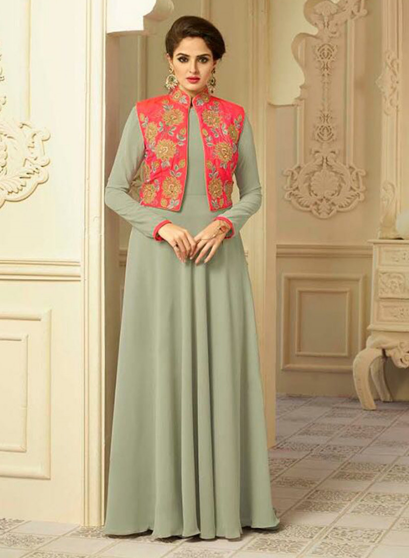 Magnatic Heavy Work Stylish Gown