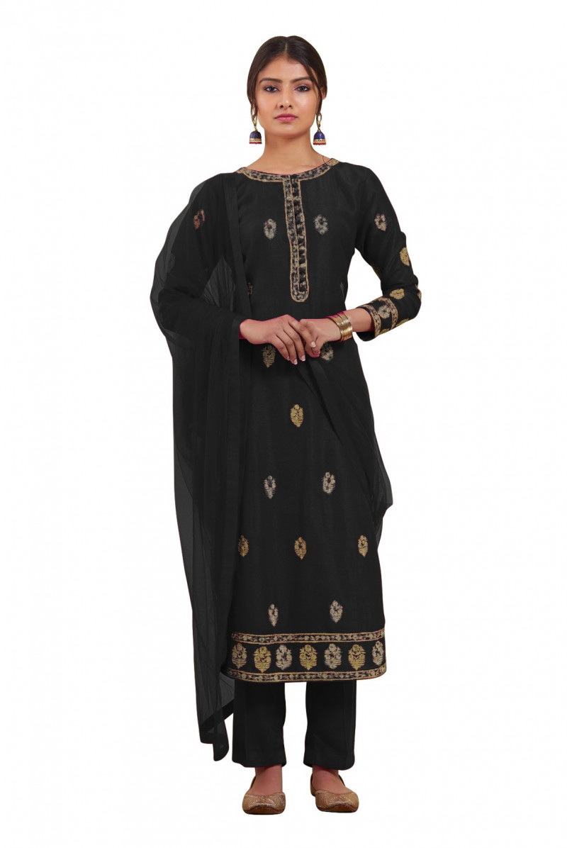 Exclusive stunning Black Color Salwar Suit
