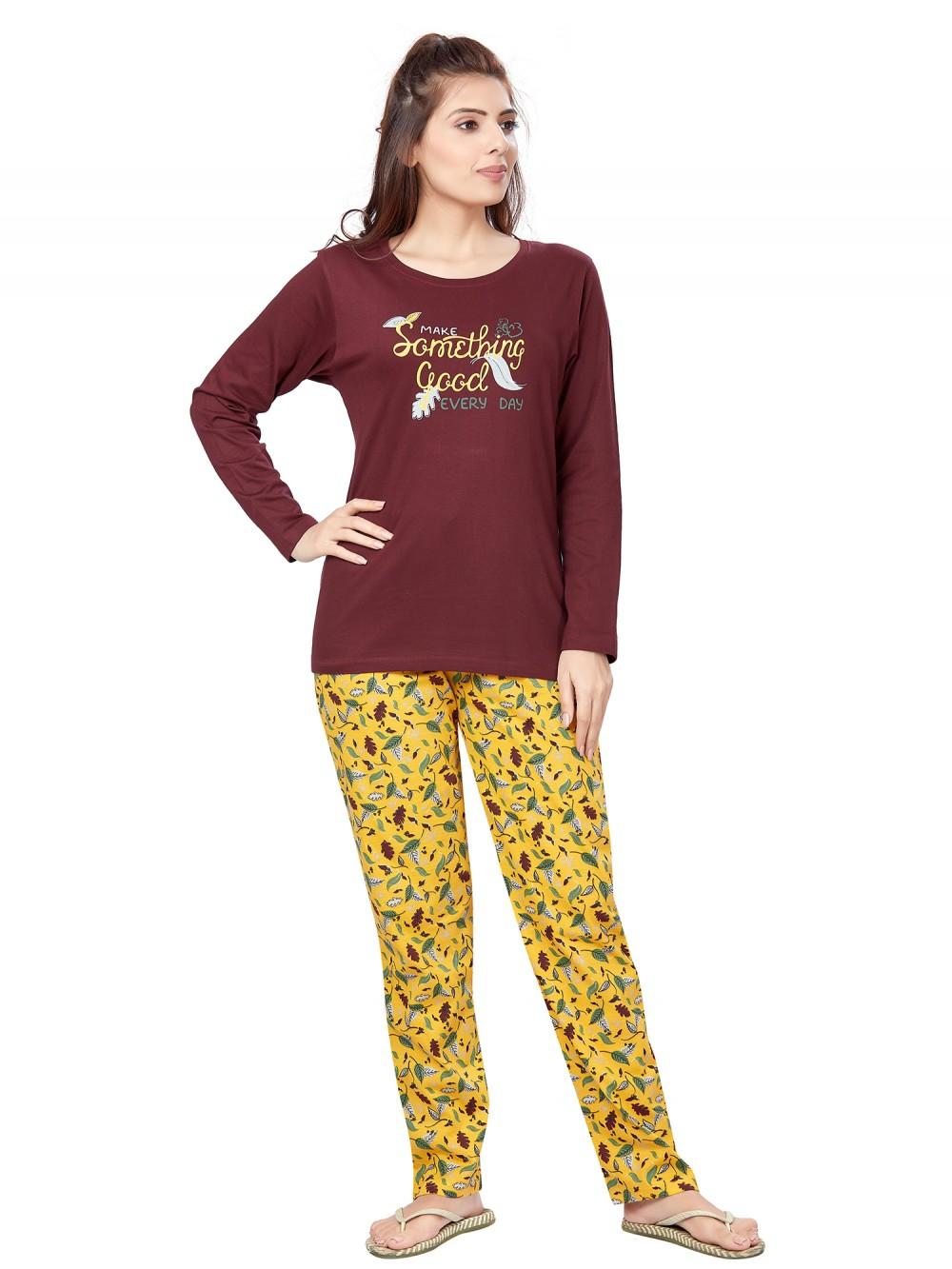 July Nightwear for women Essentials T- Shirt   Pyjama -PC711L