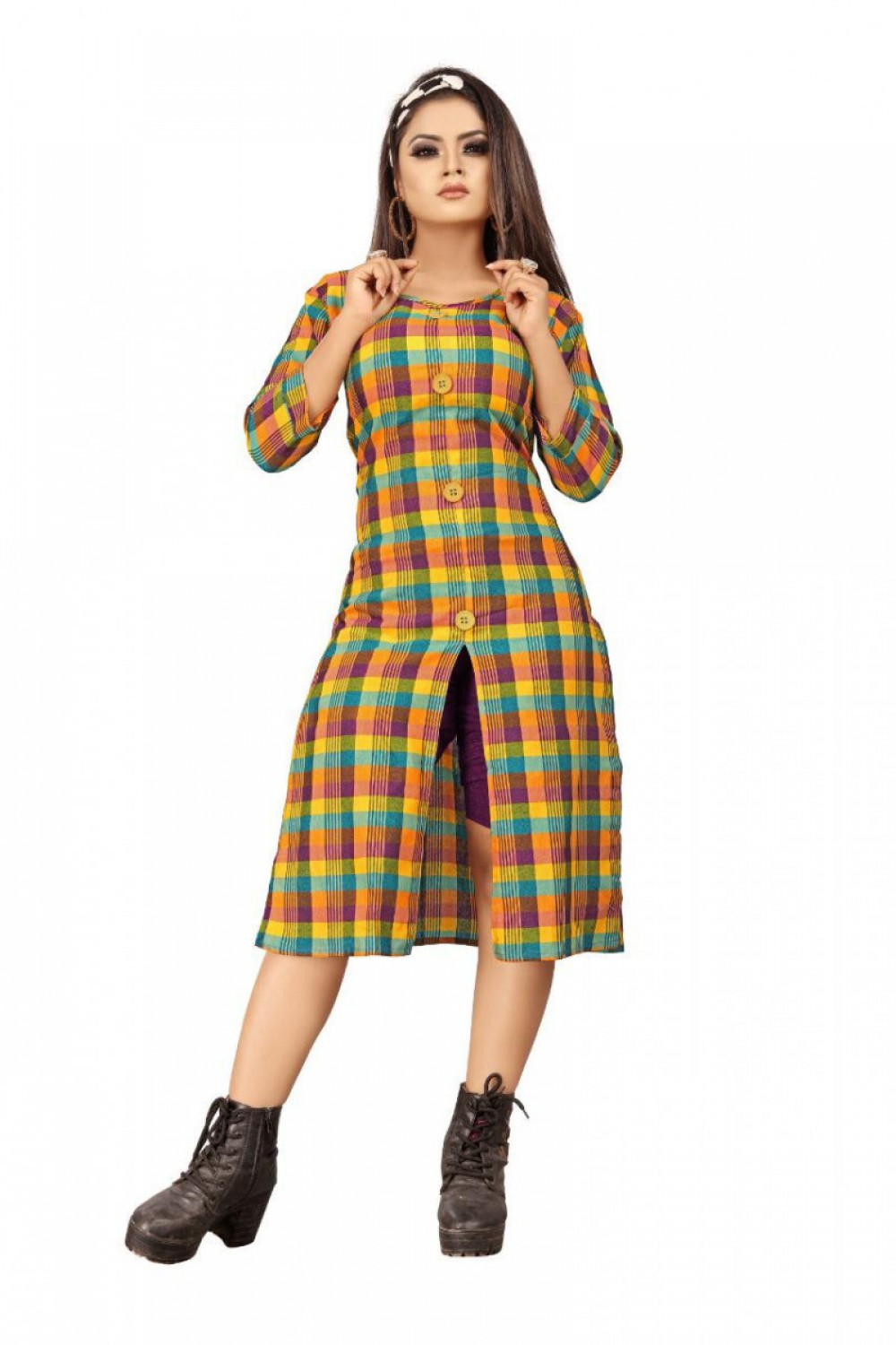 Precious Kurti Plazzo Girls Wear