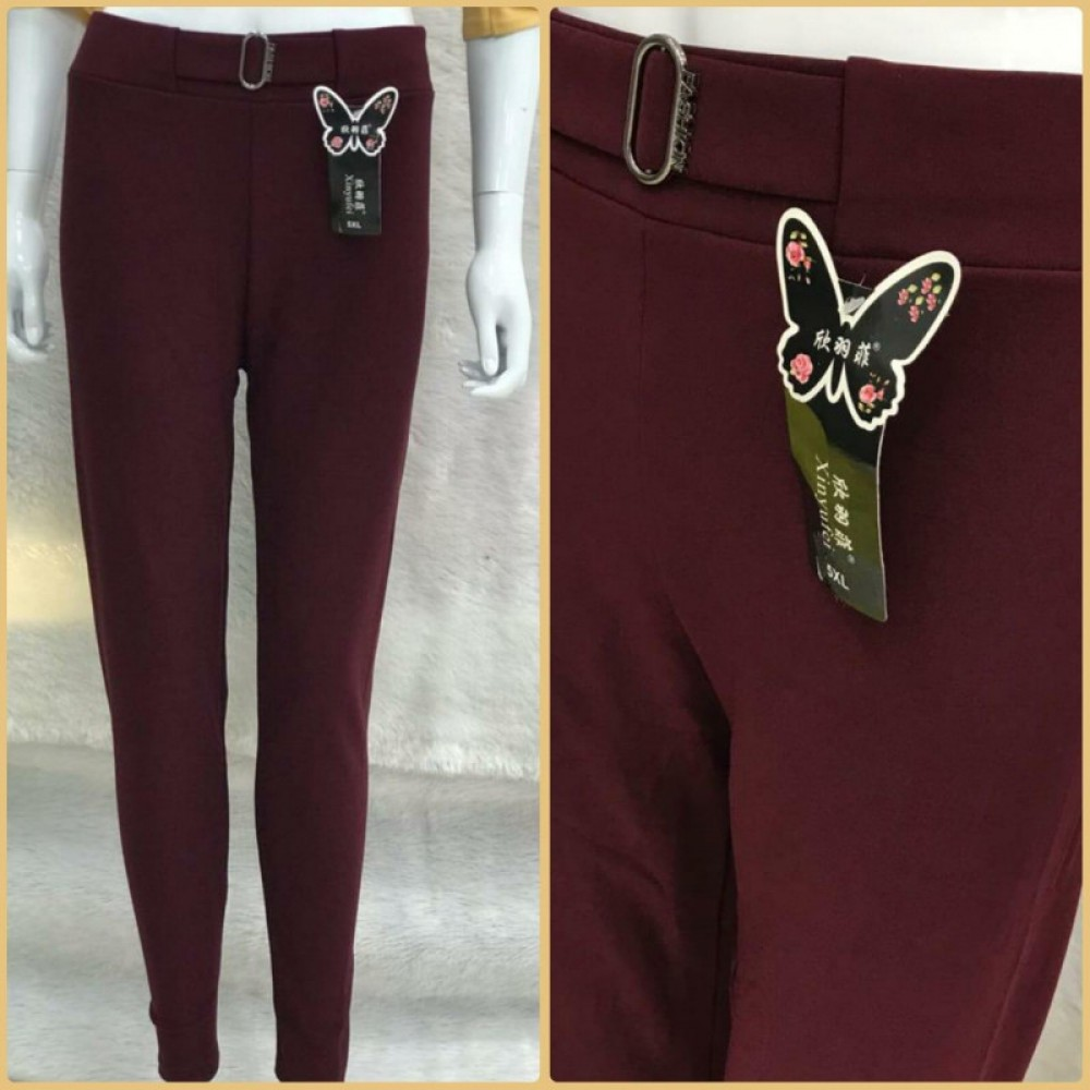 Wonderful Festival Wear Maroon Imported Stretchable Pent