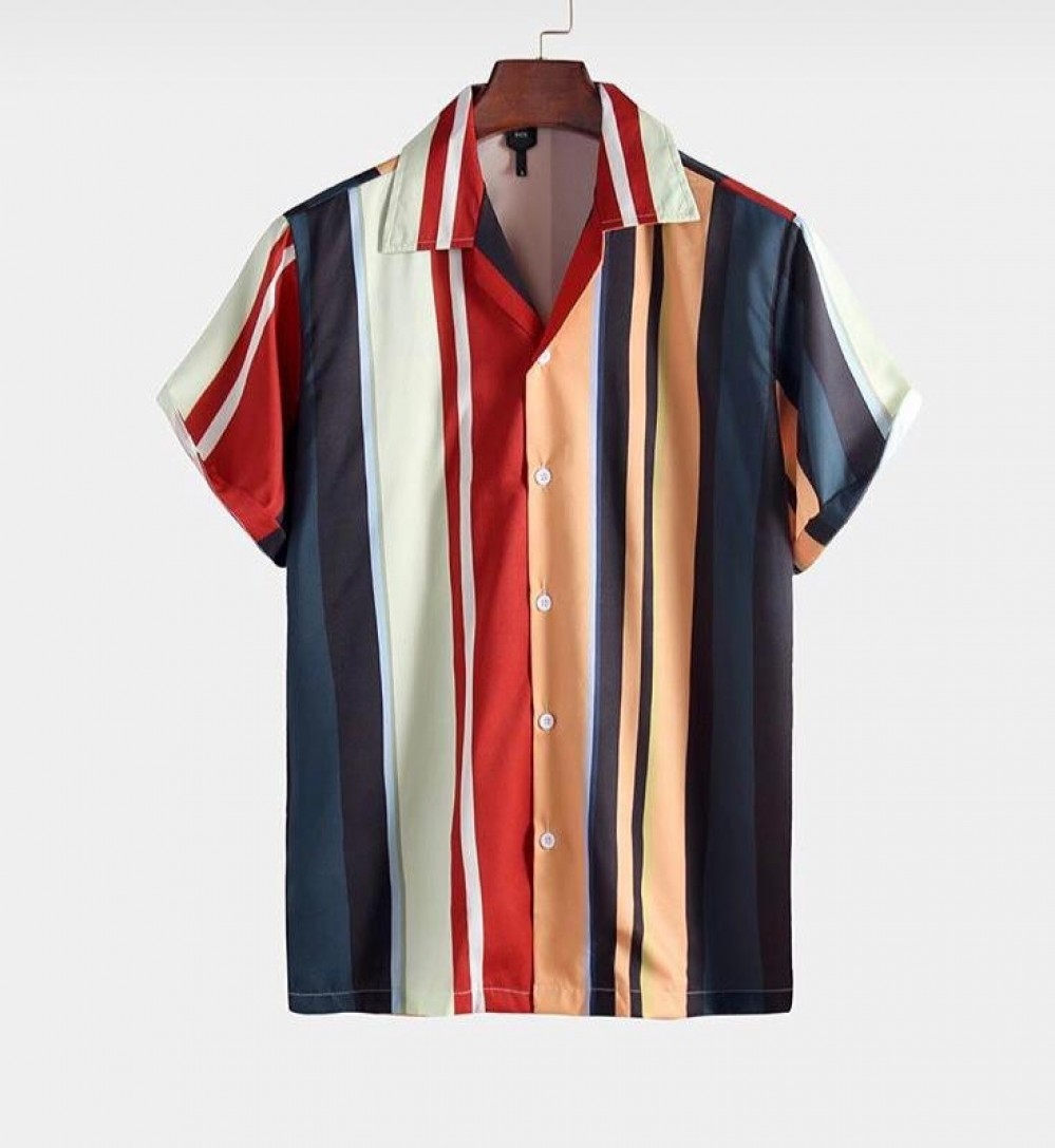 Intricate Men Wear Relaxed Striped Shirt