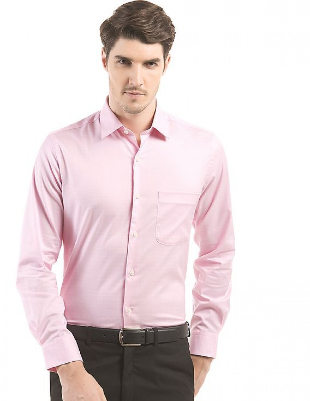 Classical Pink Looks Attractive In Formal Wear Shirt