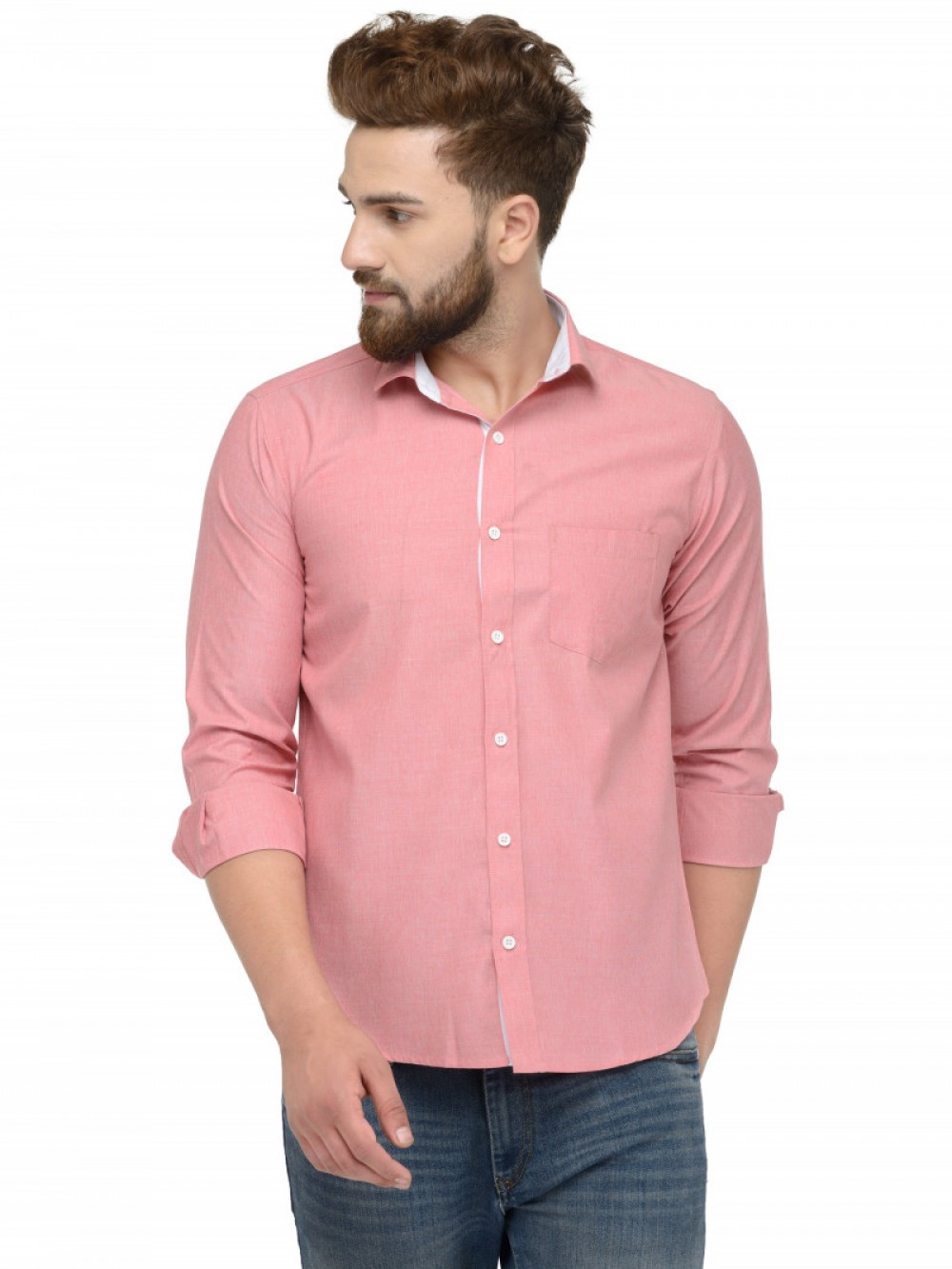 Pink Peach Color Shirt