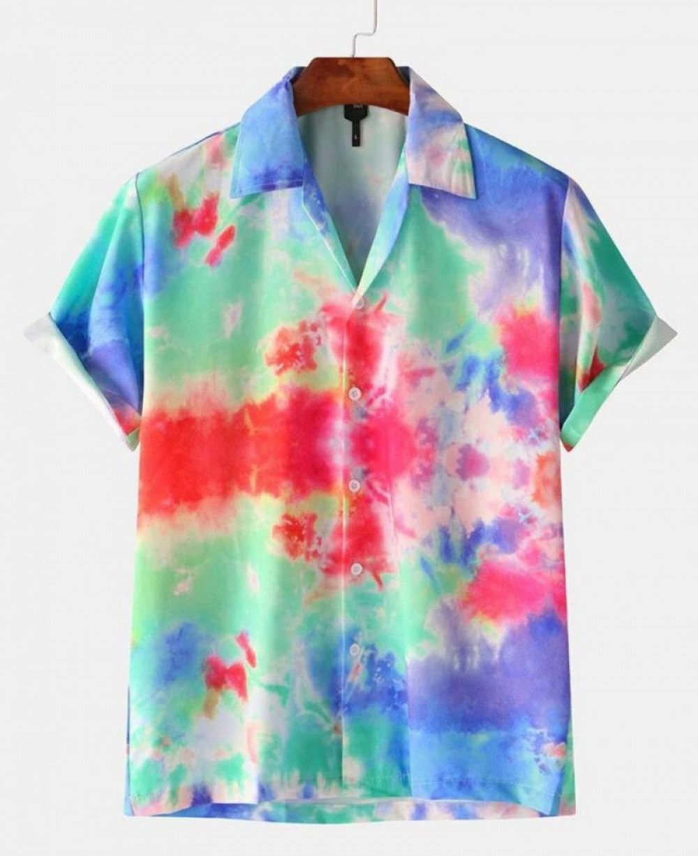 Light Multicolor Half Sleeve Wear Shirt
