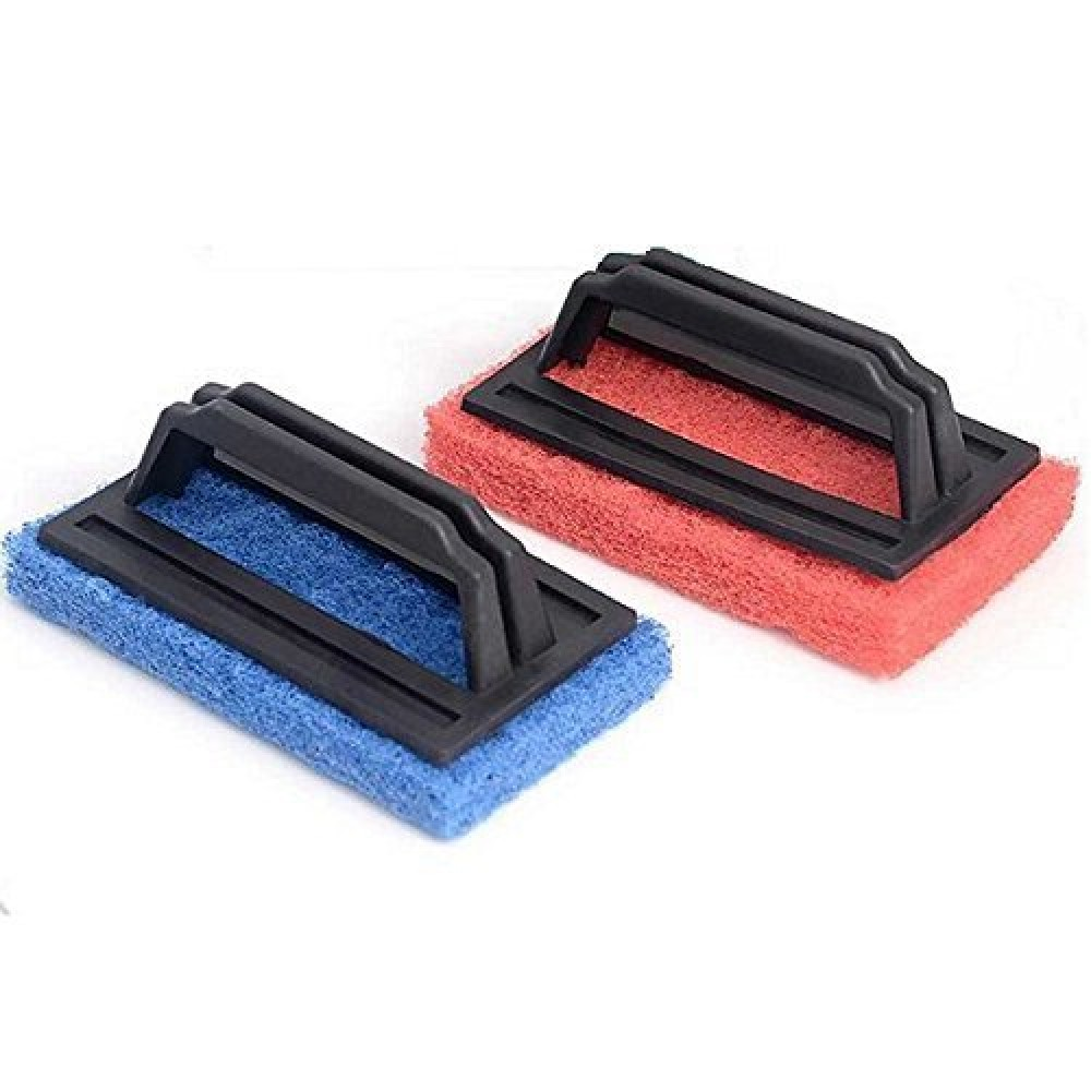 Cleaning Handle Brush For Kitchen and  Bathroom -Pack Of 2