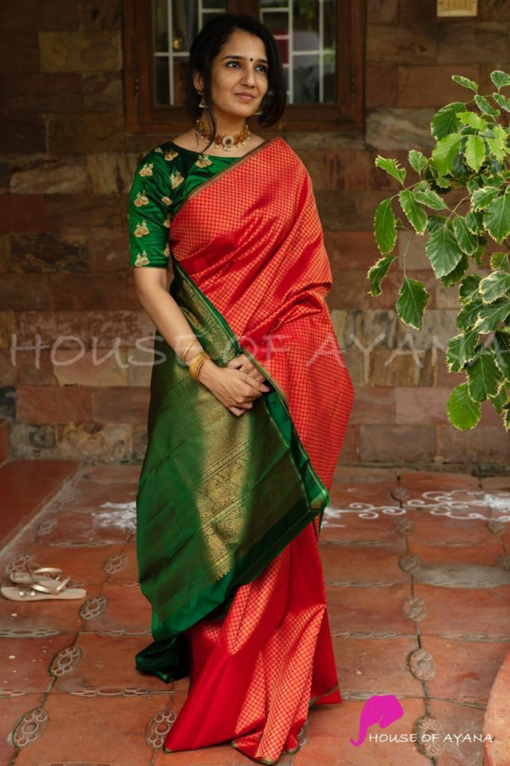 Lovely Good Looking Red Colour Festival Jacquard Saree