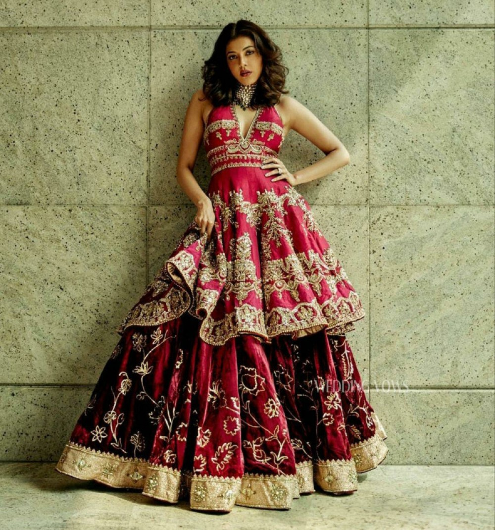 Preferable Red Lehenga With Top