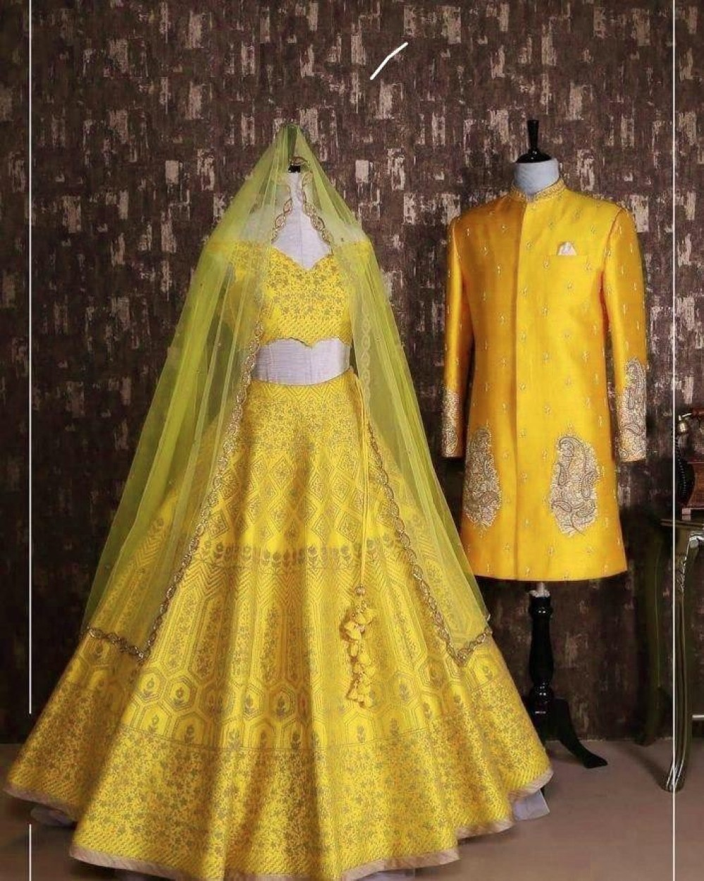 Flaunt Haldi Rasam Yellow Colour Lehenga Choli