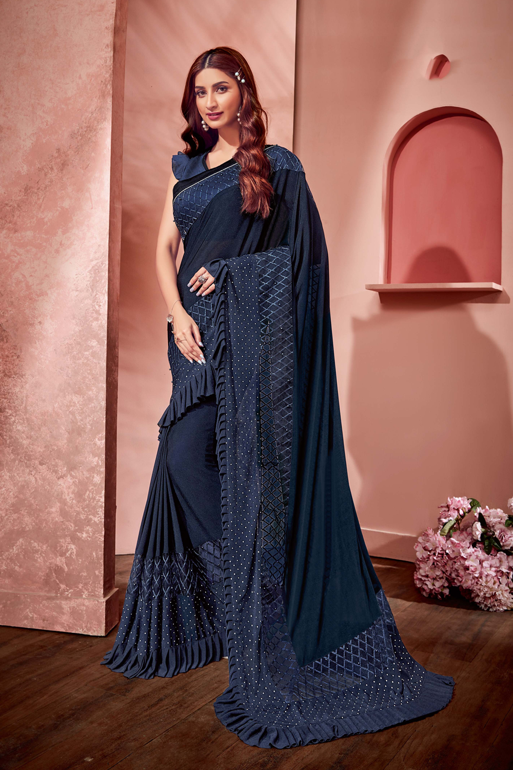 Summer appropriateness and style quotient saree