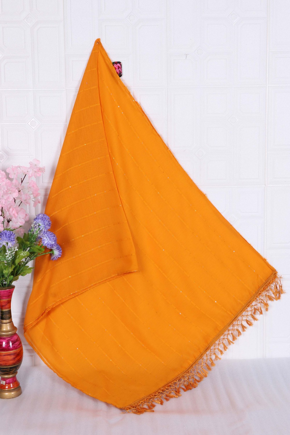 Trendy Store Womes s Cotton silk duppata
