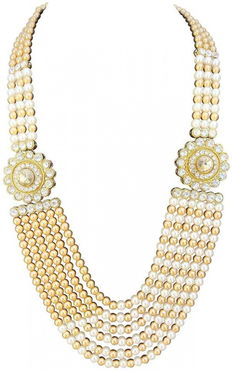 1 Mother of Pearl Gold-plated Plated Mother of Pearl Layered