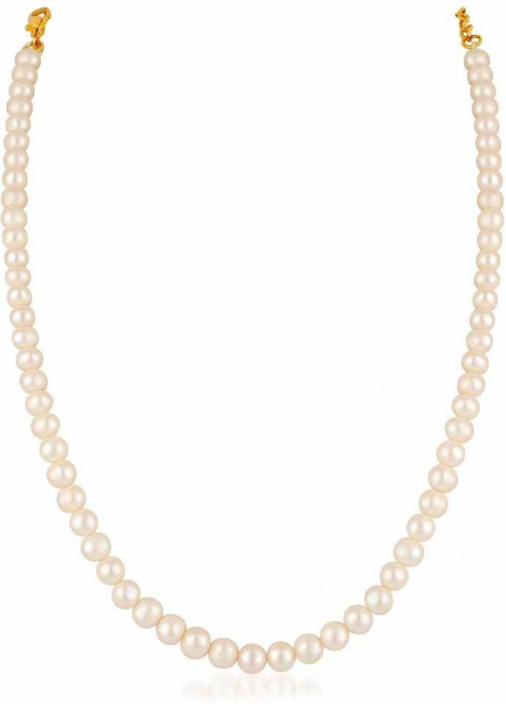 1 Mother of Pearl Gold-plated Plated Mother of Pearl Necklace