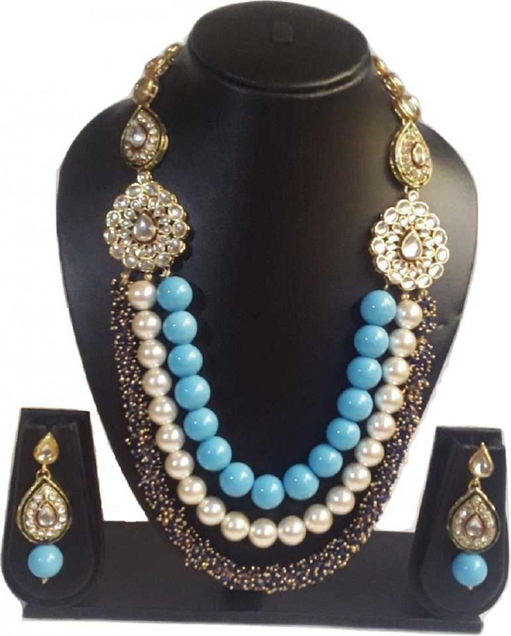 Mother of Pearl Jewel Set  (Multicolor)