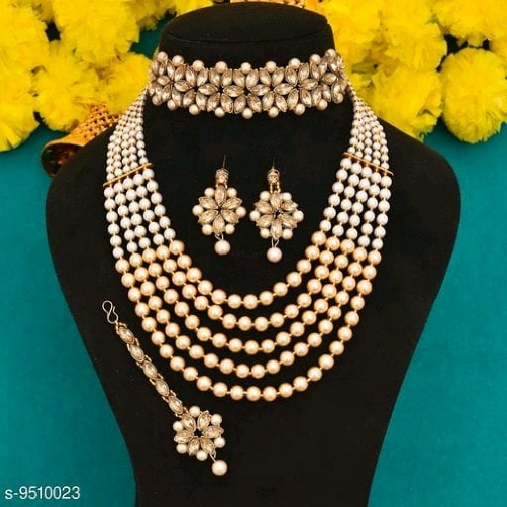 Shimmering Graceful Jewellery Sets LCD WHICH CHOKER
