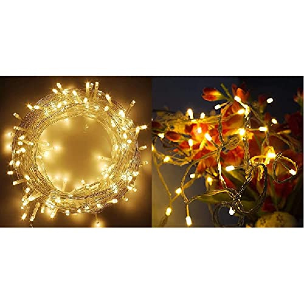 40 Feet LED Decorative String Light  for Indoor  amp  Outdoor Decorations Standard  Lex-String 40Feet  10 Meter Decorative LED String Light Plug Sourced  for Indoor  amp  Outdoor Decorations