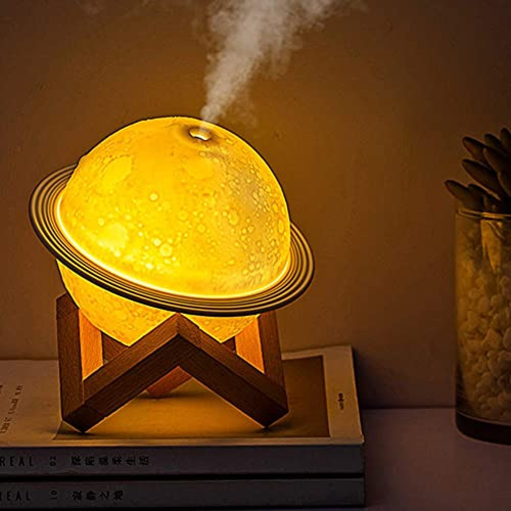 2 in 1 Moon Lamp Cool Humidifier 3D LED Night Light Humidifiers For Home  humidifiers for home