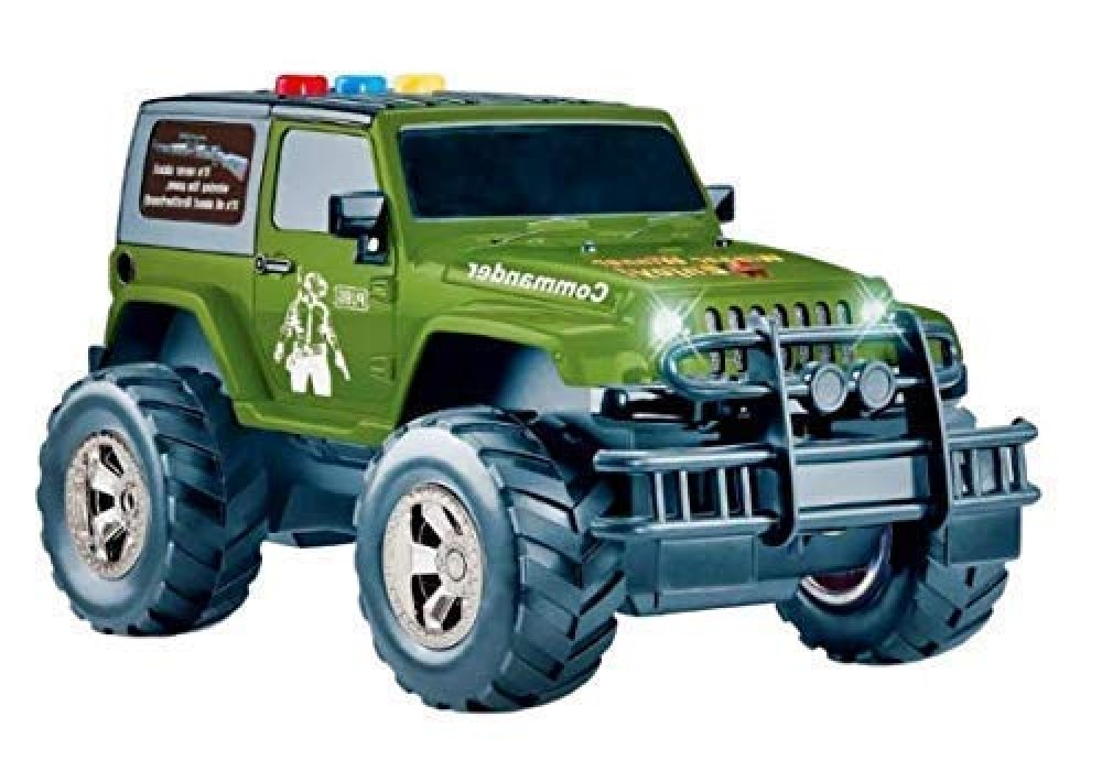 Toys Friction Powered Jeep Toy with Light  amp  Sound Toy for Kids