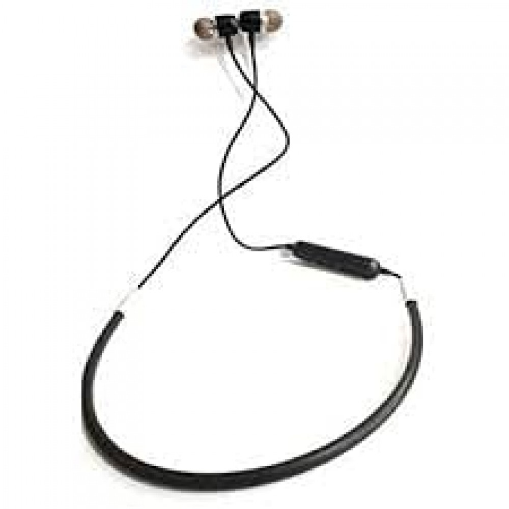 Duet Mini Magnetic Neckband Bluetooth Headset with Mic  Extra Bass Stereo  Lightweight and Sweat Proof Prefect for Gym  Running