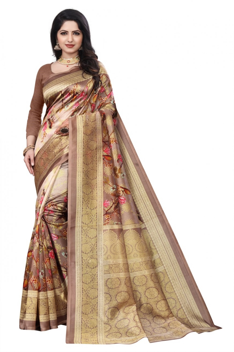 VTTRADE presented amaze saree with running blouse piece